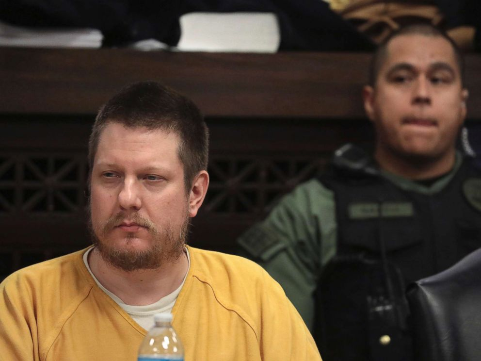 PHOTO: Former Chicago police Officer Jason Van Dyke attends his sentencing hearing at the Leighton Criminal Court Building in Chicago, for the 2014 shooting of Laquan McDonald, Jan. 18, 2019.