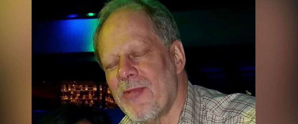 PHOTO: Stephen Paddock, seen here in a photo posted on Facebook by his girlfriend in September 2014, has been identified as the suspect in Sundays mass shooting in Las Vegas.