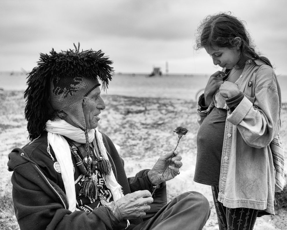 PHOTO: Jingles Blessing - The older man, who goes by the name of Jingles, has been preaching for animal rights and a vegan lifestyle for many years from his booth on the Venice Boardwalk.  Venice Beach: The last days of a bohemian paradise? venice beach 3 ht mem 180801 hpEmbed 5x4 992