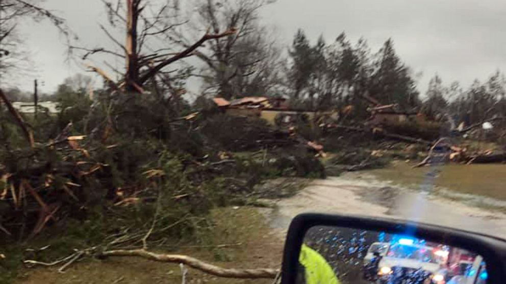 1 dead from storms in Louisiana before rough weather heads to Northeast