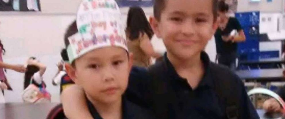 PHOTO: Jonathan Nunez-Coronado, 5, and Victor Nunez-Coronado, 8, are pictured in this undated photo released on Sept. 1, 2018.