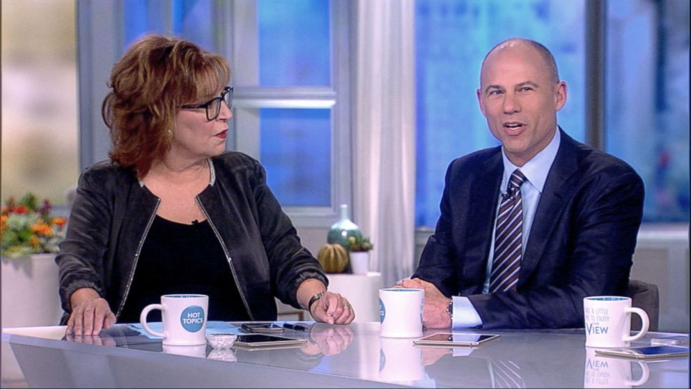 PHOTO: Michael Avenatti co-hosts on The View, Aug. 3, 2018.