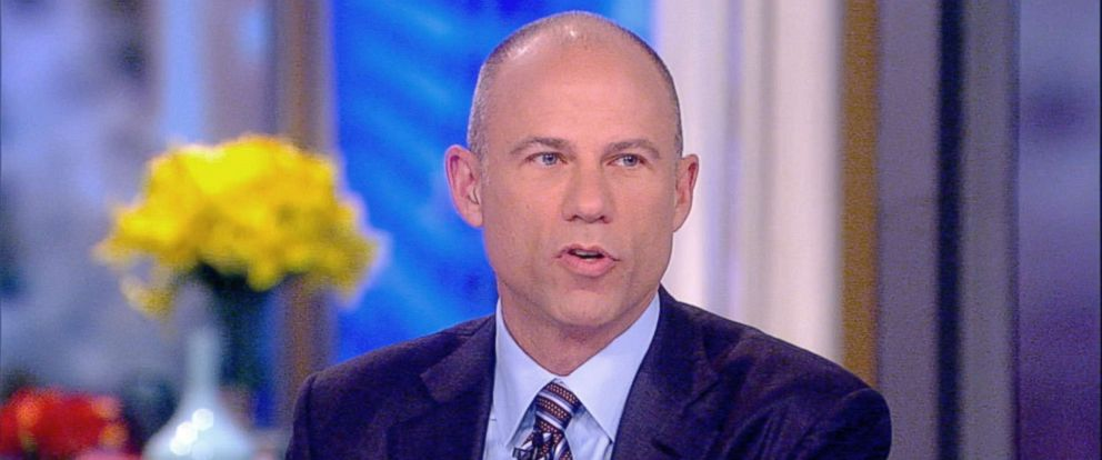 "PHOTO: Michael Avenatti co-hosts on ""The View,"" Aug. 3, 2018."