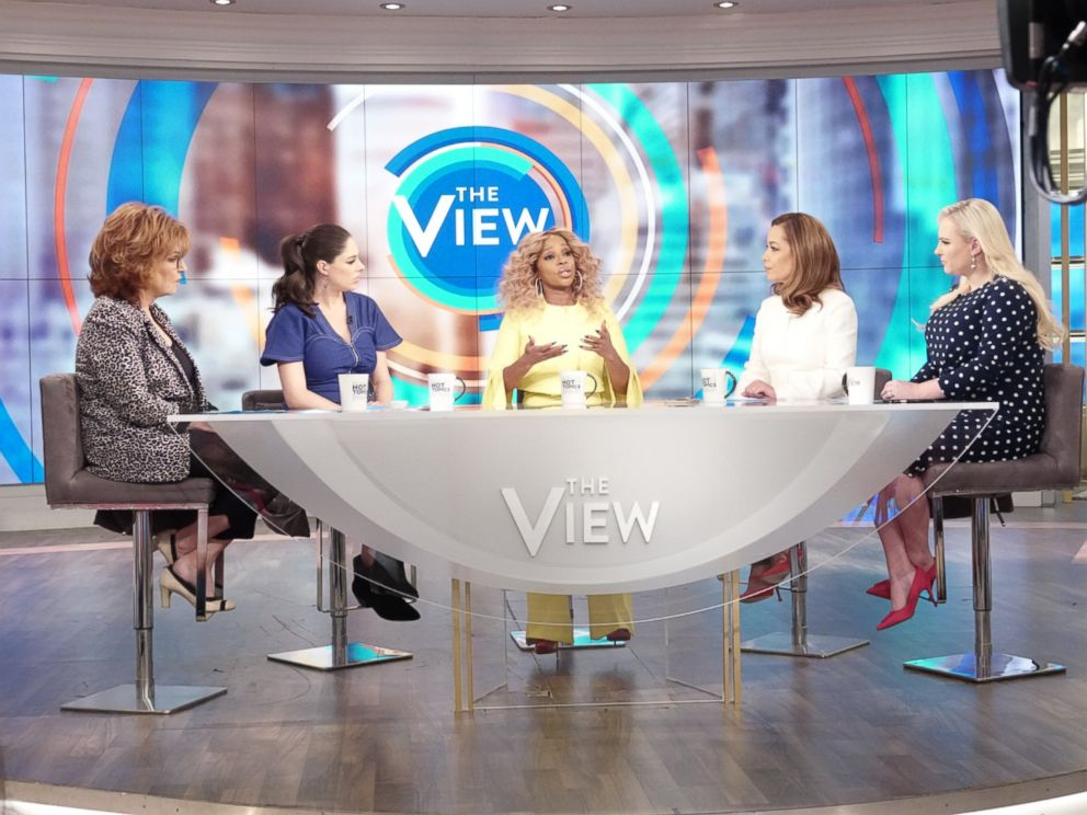 PHOTO: Mary J. Blige discusses discusses the impacts of pitting women against each other in the industry on The View Feb. 18, 2019