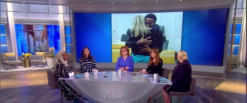 """PHOTO: """"The View"""" discusses Amber Guygers sentencing Thursday."""