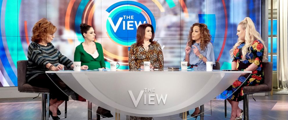 "PHOTO: ""The View"" co-hosts discuss the recent developments of Jussie Smolletts alleged false police report on Feb. 21, 2019."