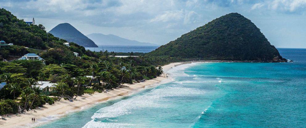 PHOTO: The British Virgin Islands.