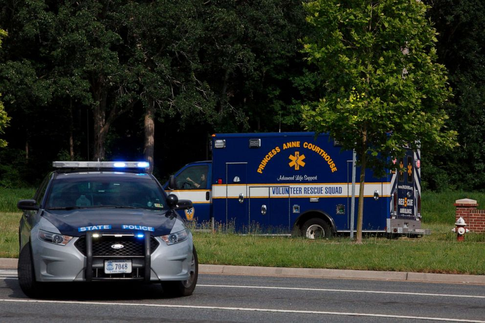 11 dead, 6 injured in Virginia Beach mass shooting, authorities say