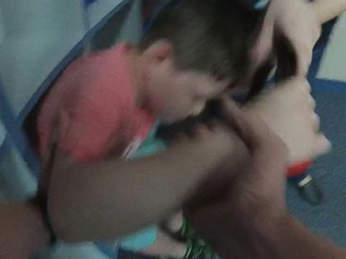 PHOTO: Bodycam footage of a child with autism seemingly being held down and handcuffed was released this week.
