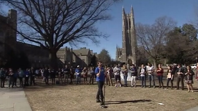 Have duke university racist party