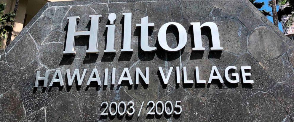PHOTO: The Grand Waikikian at Hilton Hawaiian Village is shown in Honolulu on Wednesday, Aug. 7, 2019.