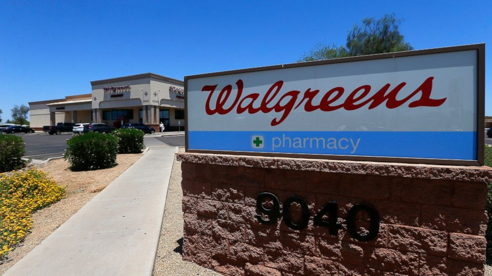 This June 25, 2018 file photo shows Walgreens in Peoria, Ariz.