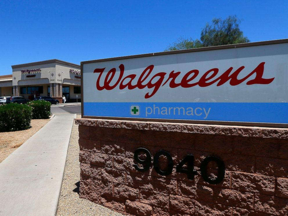 PHOTO: This June 25, 2018 file photo shows Walgreens in Peoria, Ariz.