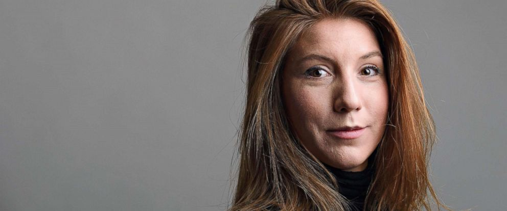 PHOTO: This family handout photo shows Swedish journalist Kim Wall who died on board a submarine south of Copenhagen, Aug. 11, 2017.