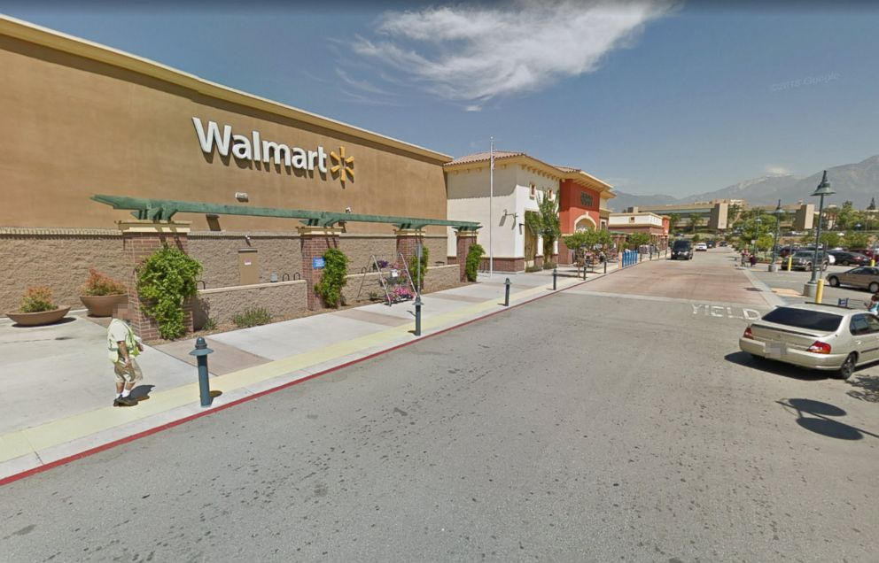 PHOTO: Wal-Mart, located at 1333 N. Mountain Ave Ontario, Calif. is pictured in a Google Street View image from 2017.