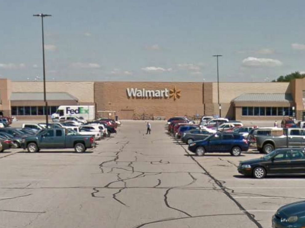PHOTO: A Walmart store in Sugar Creek Township, Ohio.