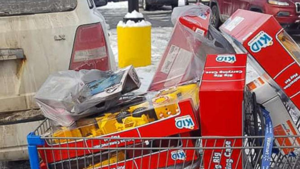 A mystery man paid off the entire lot of layaway items for customers at a Walmart store in Derby, Vermont.