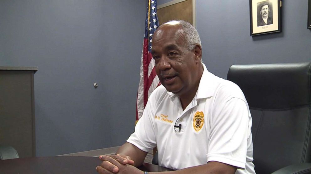 PHOTO: Meridian Police Chief Benny Dunbose said the department has zero tolerance for use of excessive force.