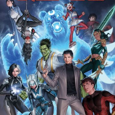 Marvel Universe gets a new team of Asian superheroes, and a number