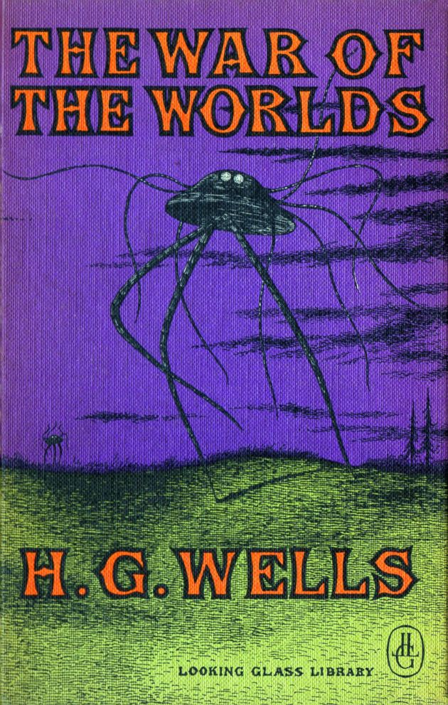 PHOTO: The War of the Worlds is a science fiction novel by English author H. G. Wells.