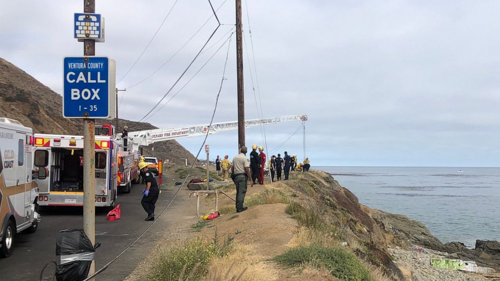 three die after being washed into Pacific Ocean thumbnail