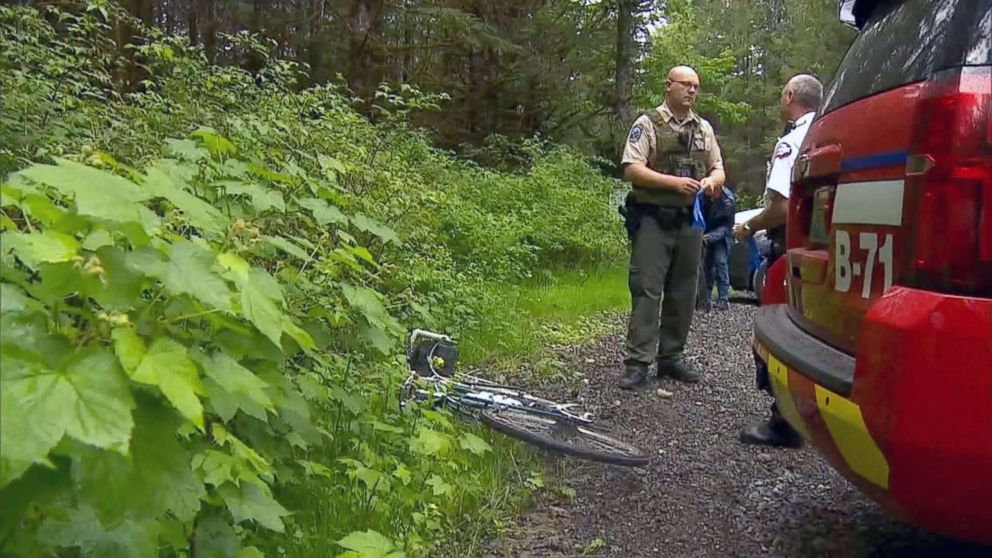 """Washington Fish and Wildlife officials suspect this cougar, who they described as """"emaciated,""""  attacked as pair of mountain bikers in the Cascade Mountain foothills east of Seattle on Saturday, killing one and severely injuring another."""