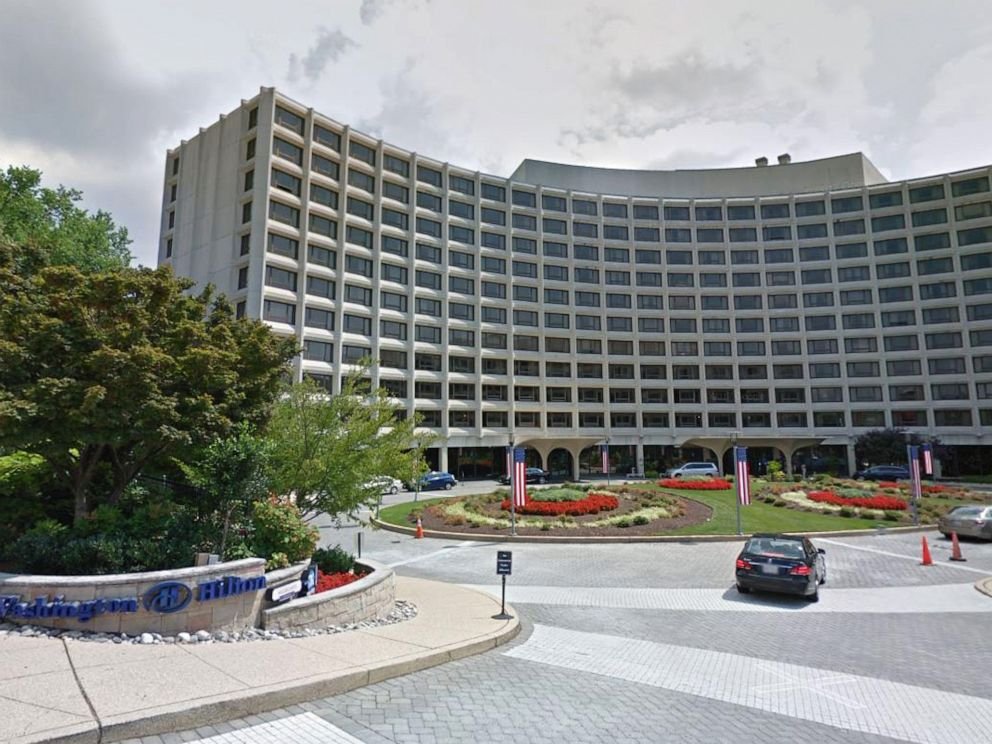 PHOTO: The Washington Hilton hotel in Connecticut Avenue in Washington, D.C., in 2017.