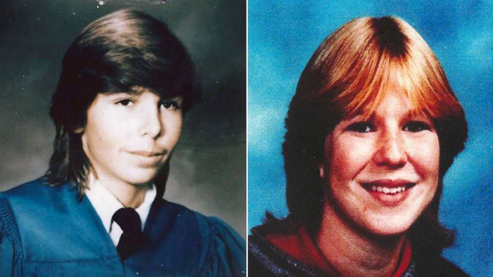 Jay Cook, left, and Tanya Van Cuylenborg of Vancouver Island were found slain in Washington in 1987.