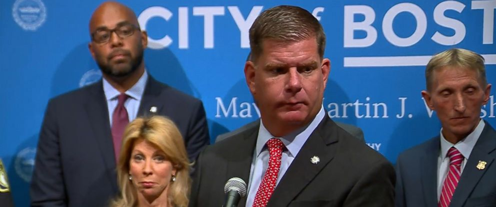 PHOTO: Boston Mayor Martin Walsh speaks at a press conference, Aug. 18, 2017 in Boston.