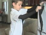 VIDEO: North Dakota seven-year-old accidently left the treasured shirt behind on a Delta flight.