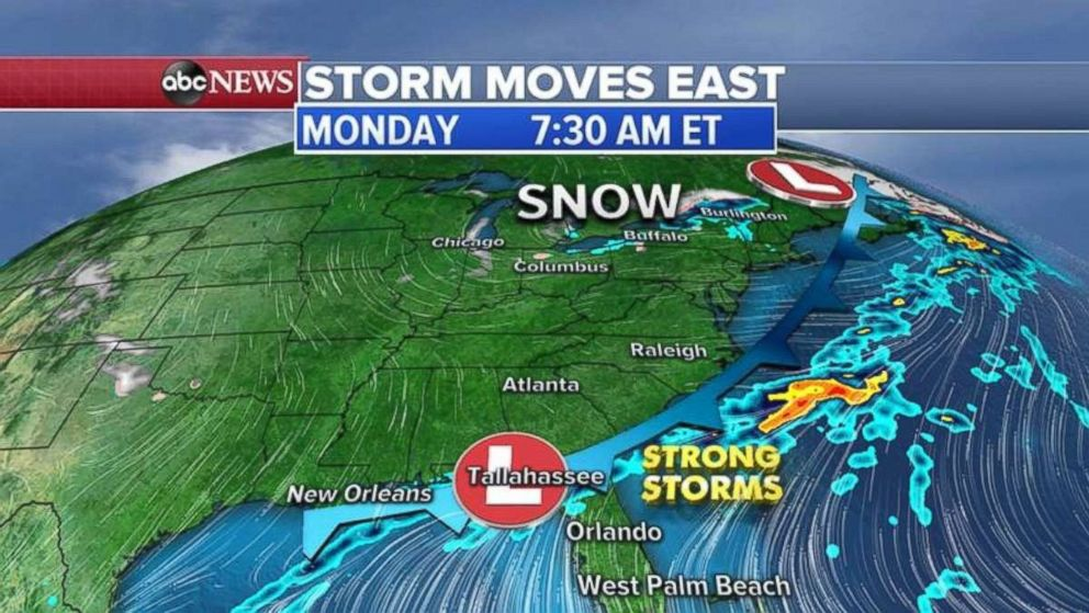 The Southeast could be in for some flooding this morning.