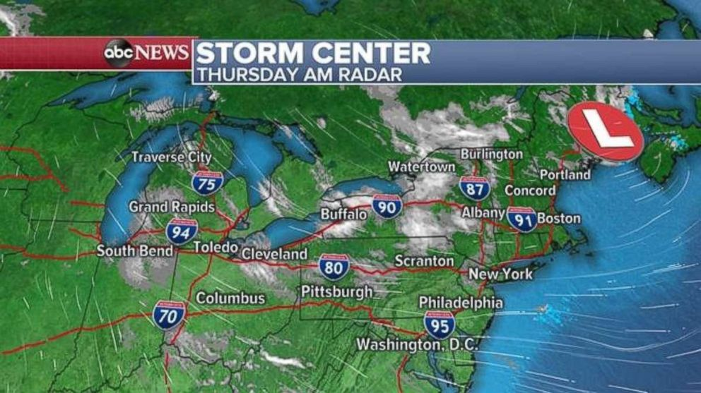 Erie to see 2 to 4 inches of snow Thursday