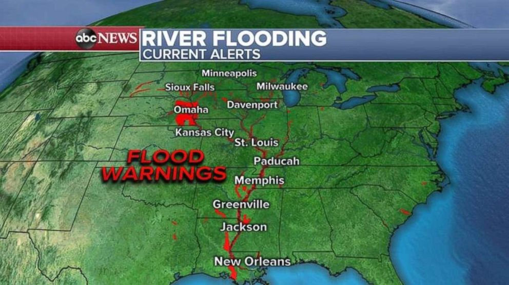 PHOTO: More flooding warnings have been issued this morning.