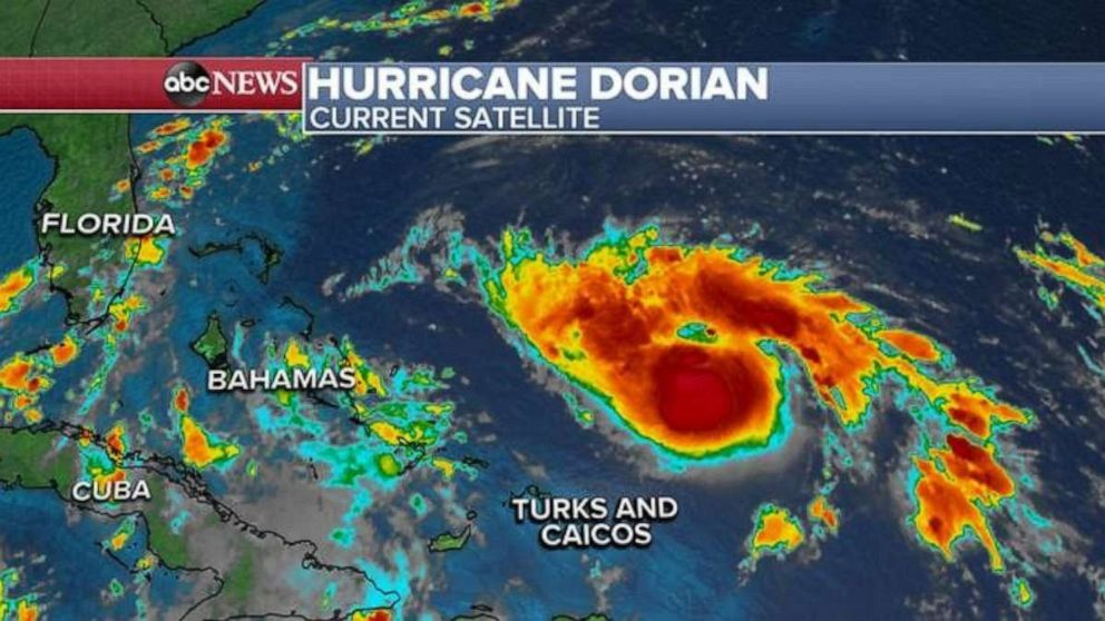 Hurricane Dorian gains strength as Florida braces for potential 'monster' storm