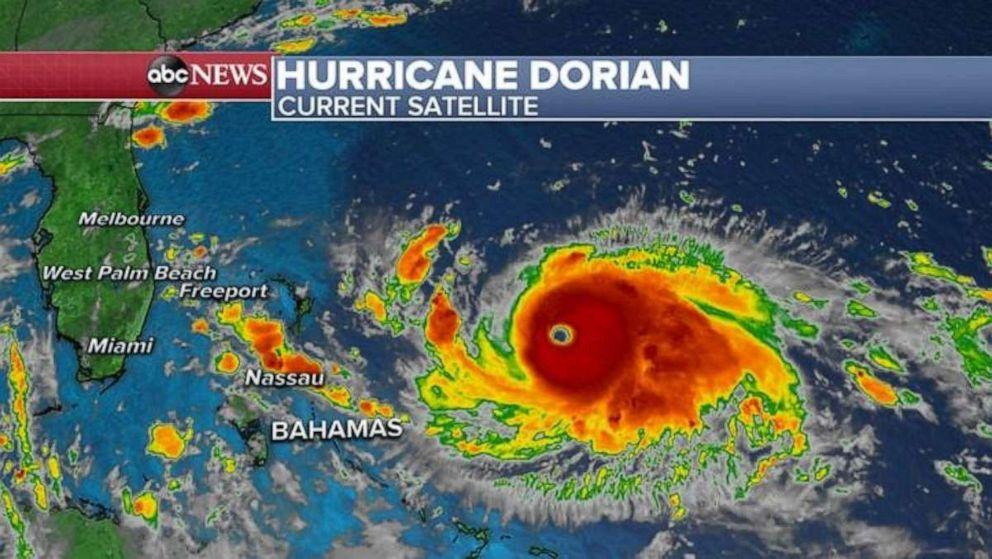 PHOTO: Hurricane Dorian may not make landfall in Florida.
