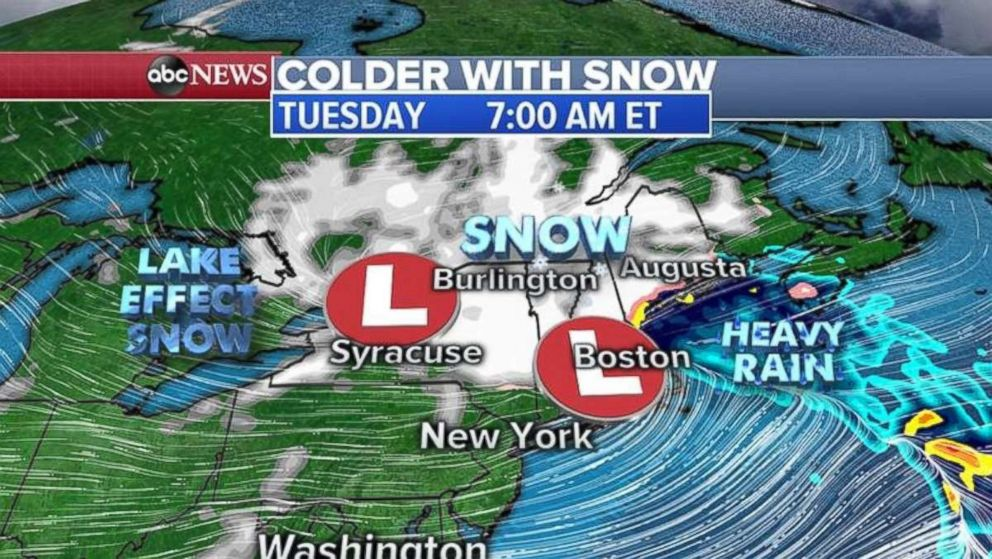 A massive winter storm is targeting the Northeast this morning.