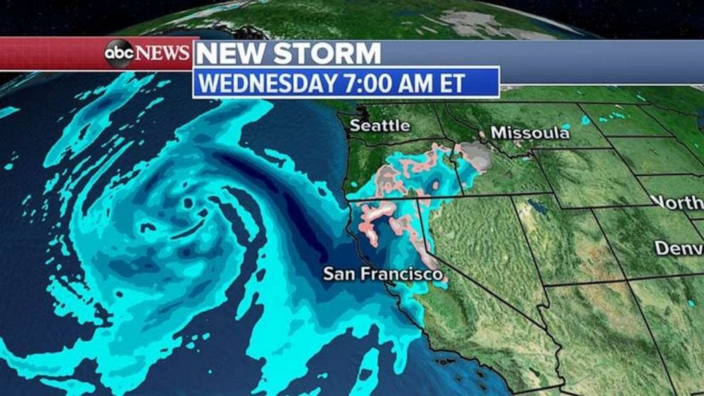 Another storm is forming in the Pacific Ocean.