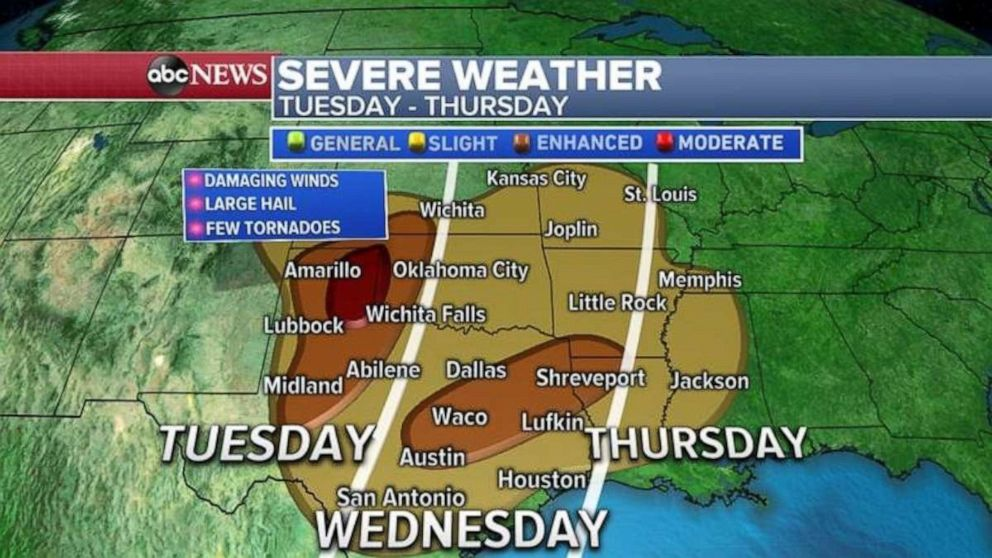 More severe weather and flooding expected