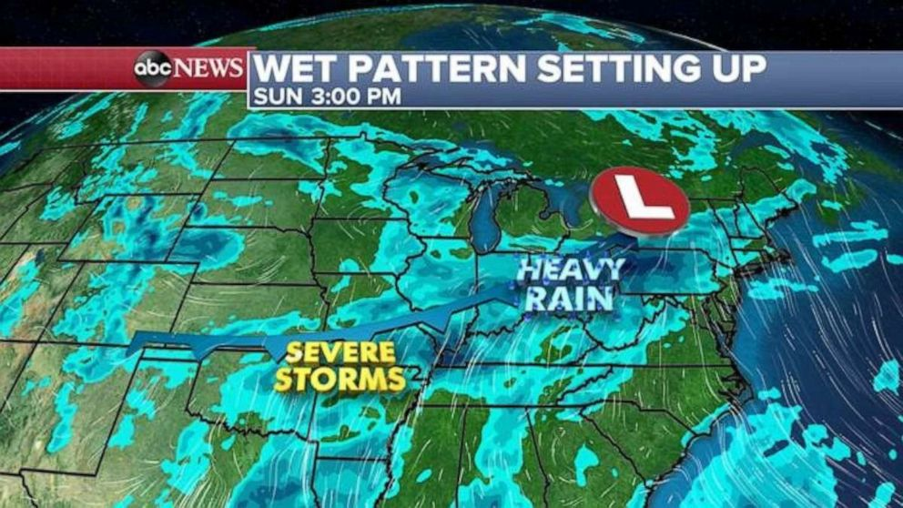 PHOTO: Severe storms are in the forecast.