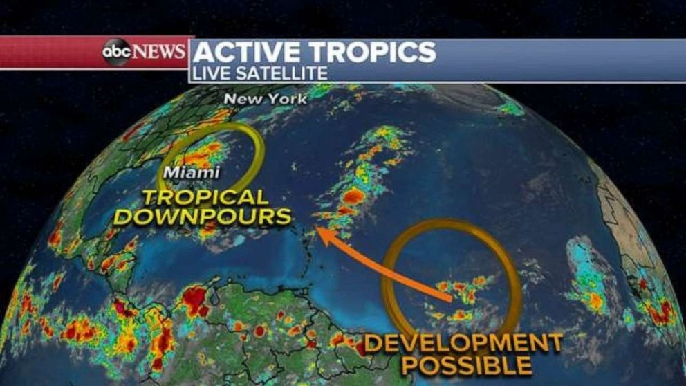 PHOTO: Activity continues in the Atlantic Ocean.