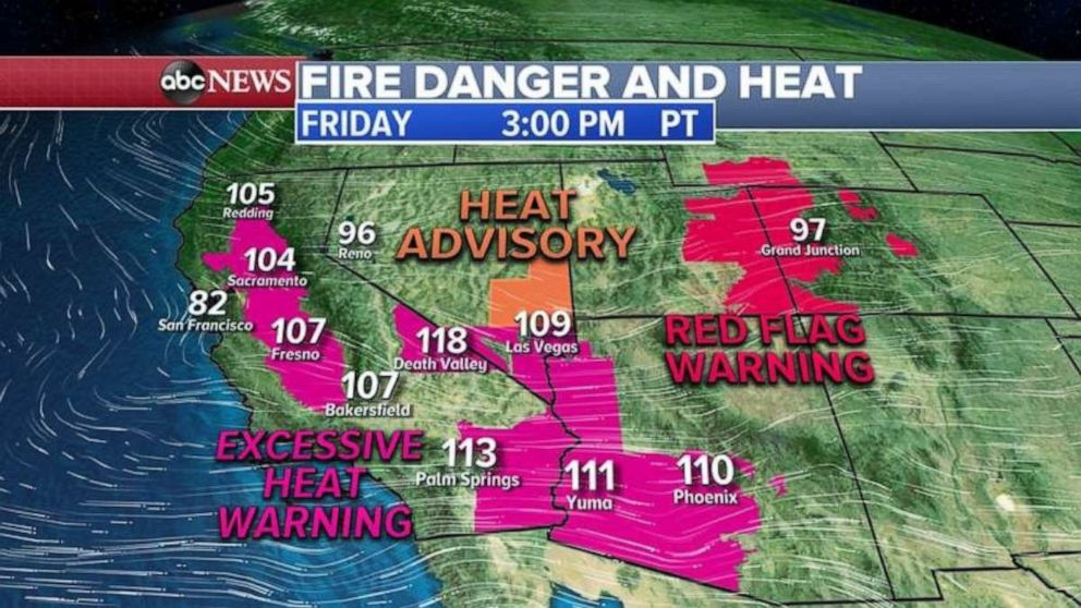 PHOTO: Conditions in the Southwest could lead to more wildfires.