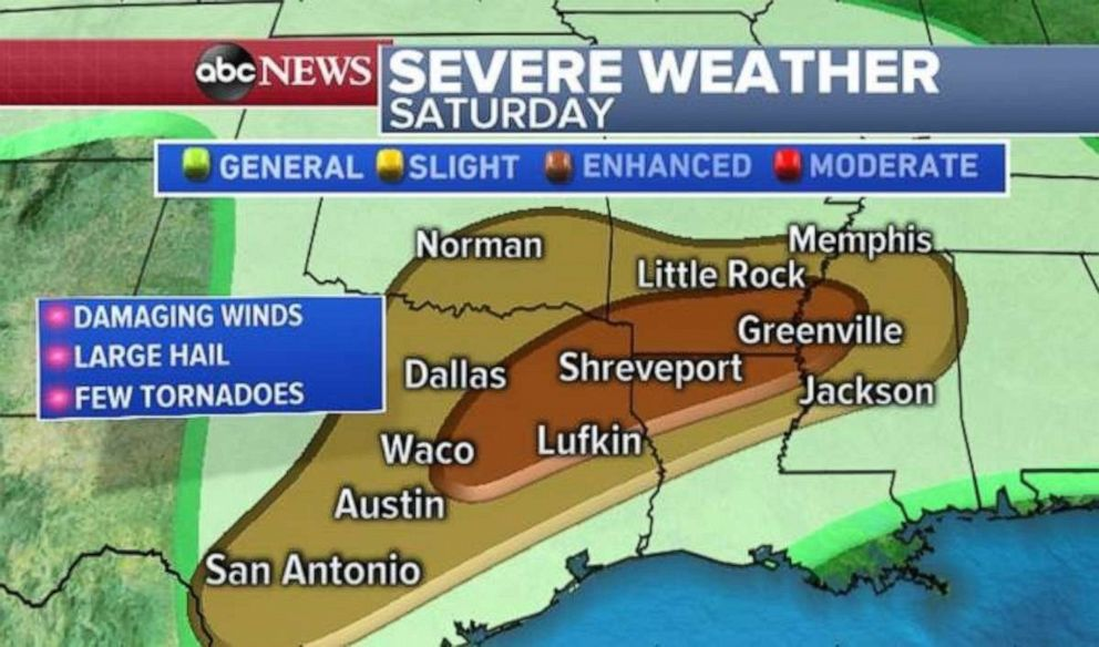 Northeast Texas is bracing for severe weather tonight.