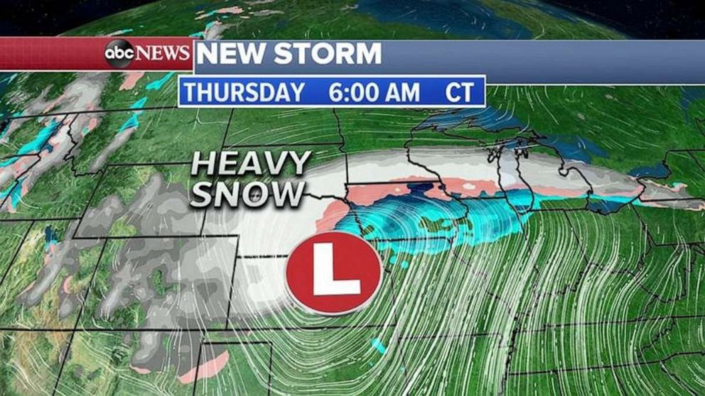 PHOTO: The Midwest is bracing for a potentially massive blizzard.