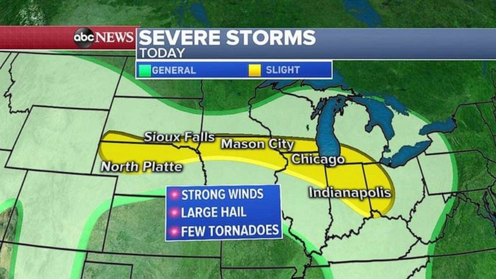 PHOTO: Another storm system is targeting the Midwest.