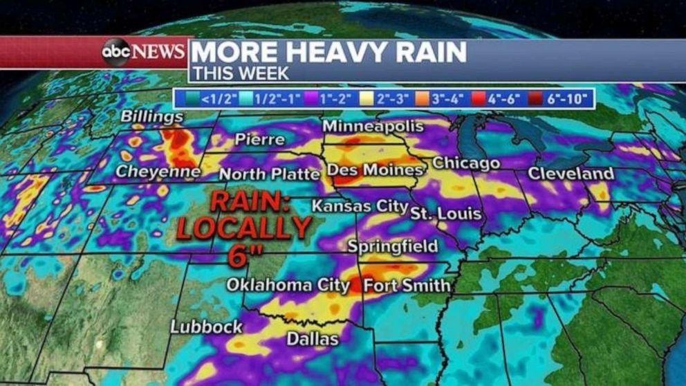 PHOTO: A lot of rain is expected this week.