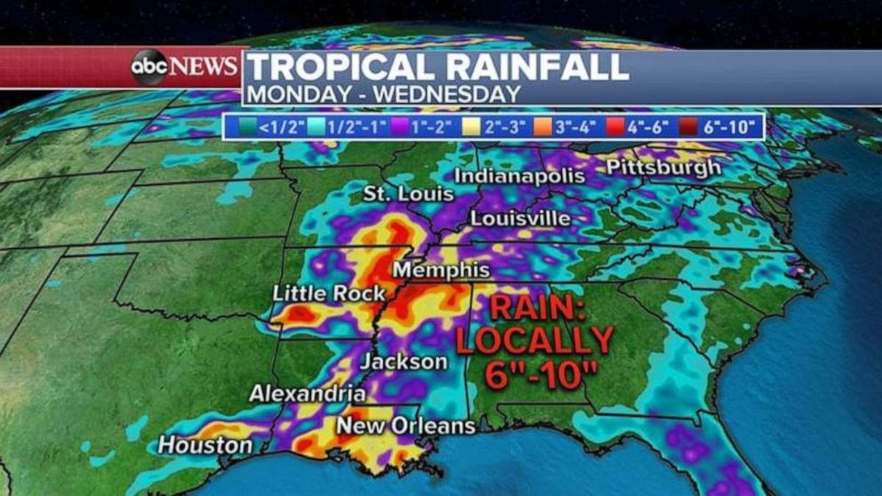 PHOTO: More rainfall is expected later in the week.