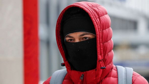 Record-breaking arctic blast stretches from Midwest to Northeast to South