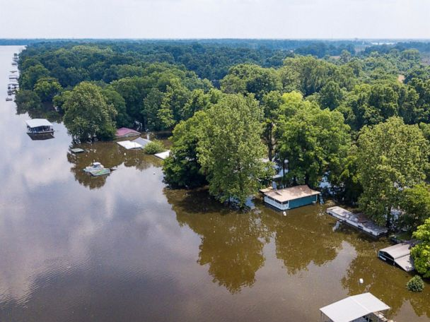 Severe flooding threat stretches from Texas to New Jersey