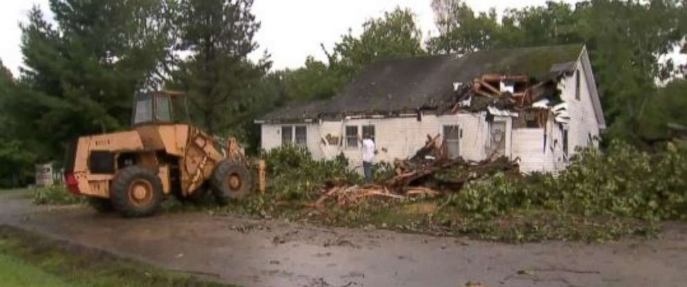 Cleanup from storm damage has been extensive in several parts of the country.
