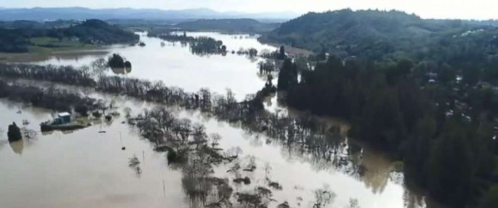 PHOTO: Recent flooding in California has been devastating.